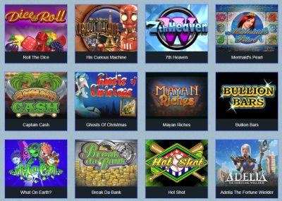 Бесплатные автоматы казино Вулкан