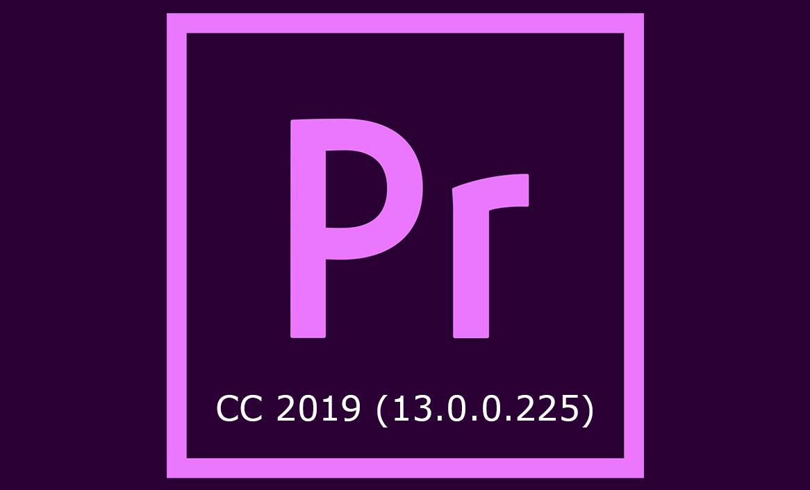 Adobe Premiere Pro CC 2019 (v13.0) Multilingual