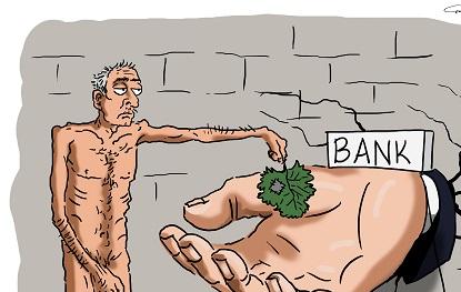Banka borclu vətəndaş