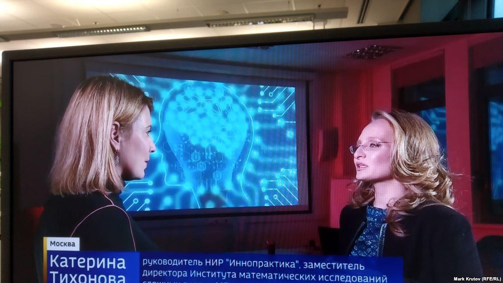 VIDEO - 'Putinin kiçik qızını' dövlət telekanalında göstərdilər