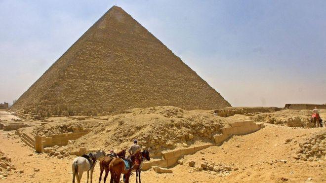 VIDEO - Misir piramidalarında