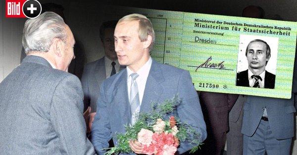 Almaniyada Putinin casus vəsiqəsi tapılıb
