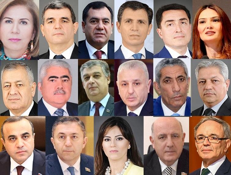 """Onlar """"İlin ən fəal deputatları"""" seçildilər - SİYAHI"""