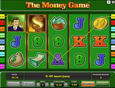 The Money Game — автомат для азартных людей