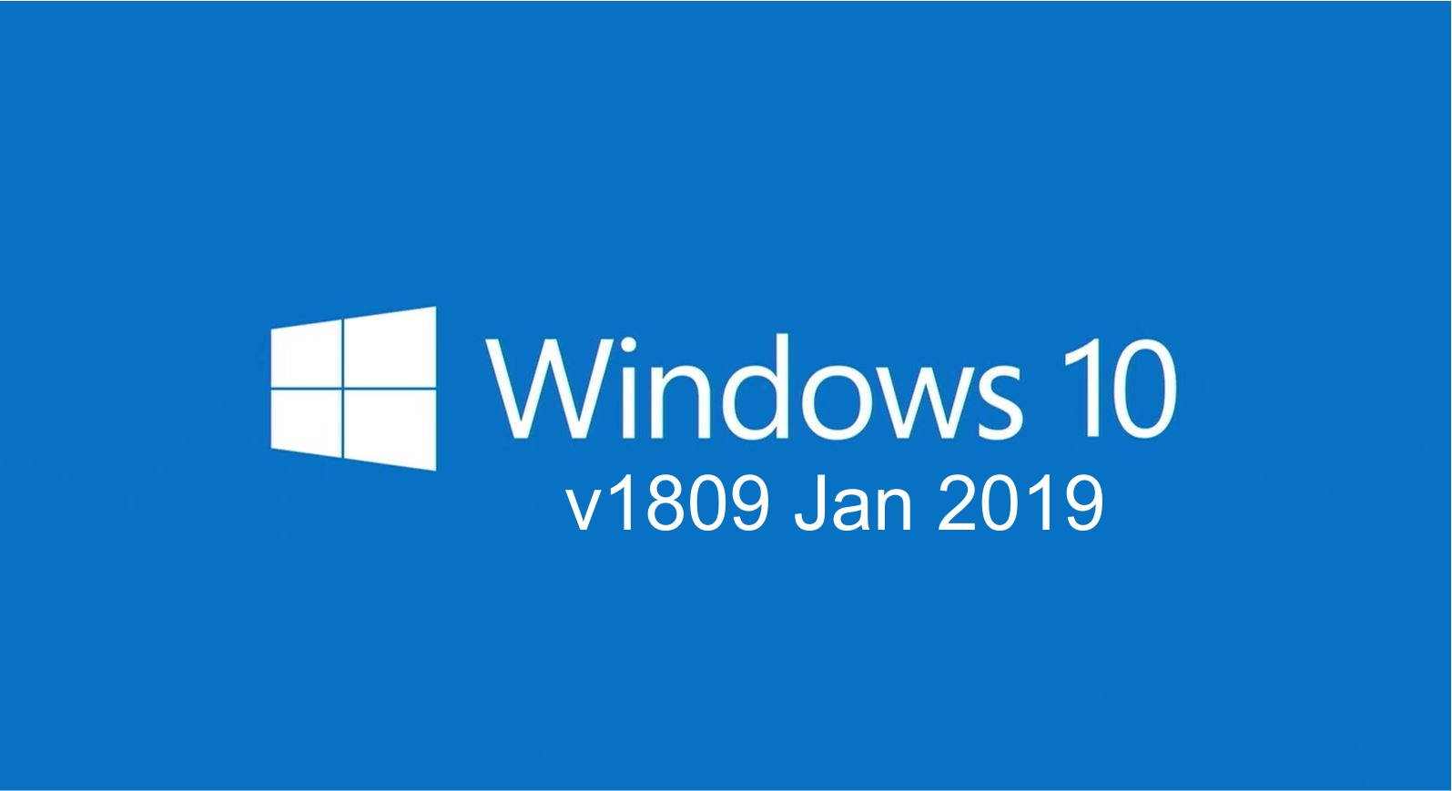 Windows 10 (v1809-Jan) RUS-ENG x86-x64