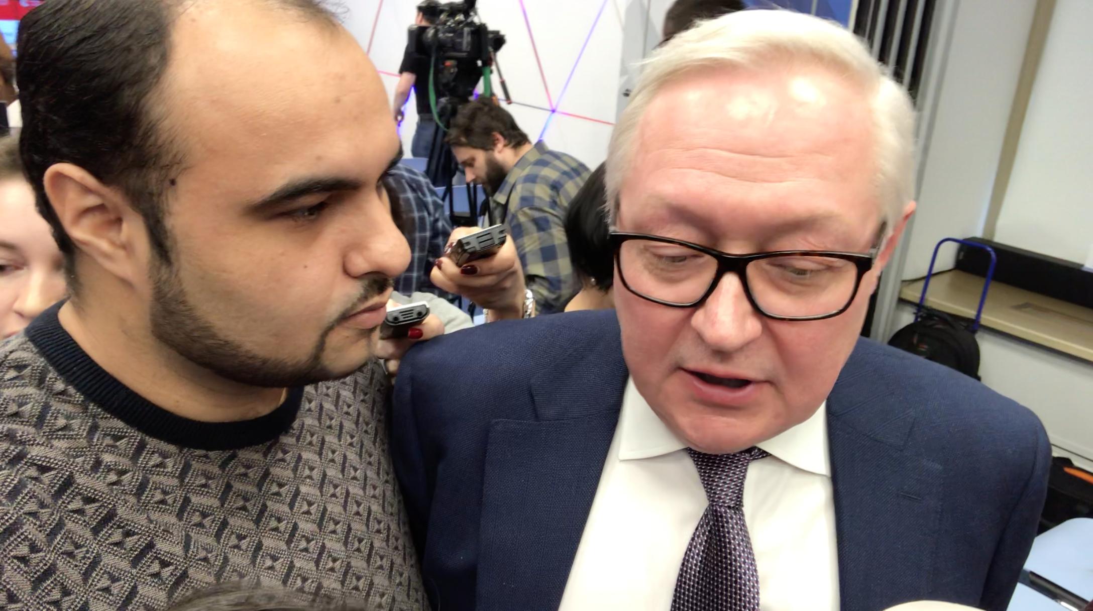 Интервью с заместителем главы МИД РФ Сергеем Рябковым | Хаял Муаззин | Иранский журналист продюсер |