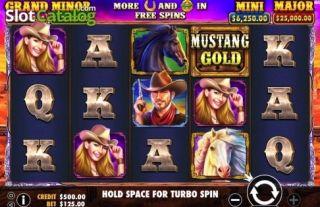 Mustang Gold — игровой автомат 2019 года