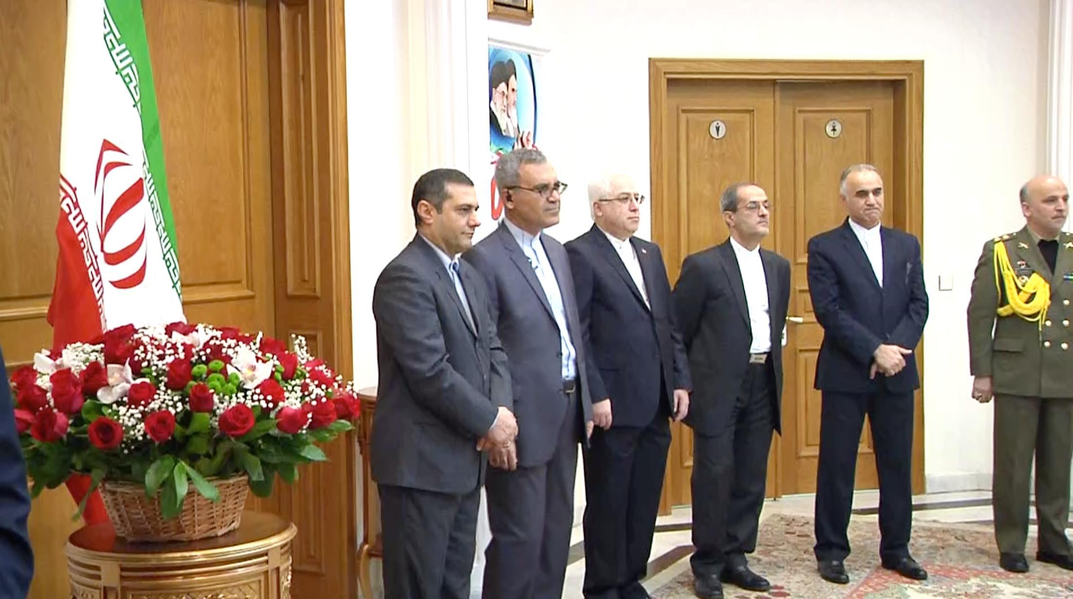 В Москве прошла церемония годовщины победы Исламской революции в Иране