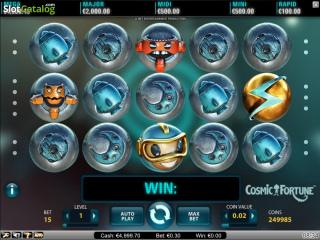 Игра о космосе Cosmic Fortune в казино Вулкан