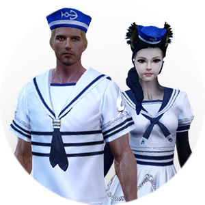 В Arche Age предложили купить матросские костюмы за 399 рублей