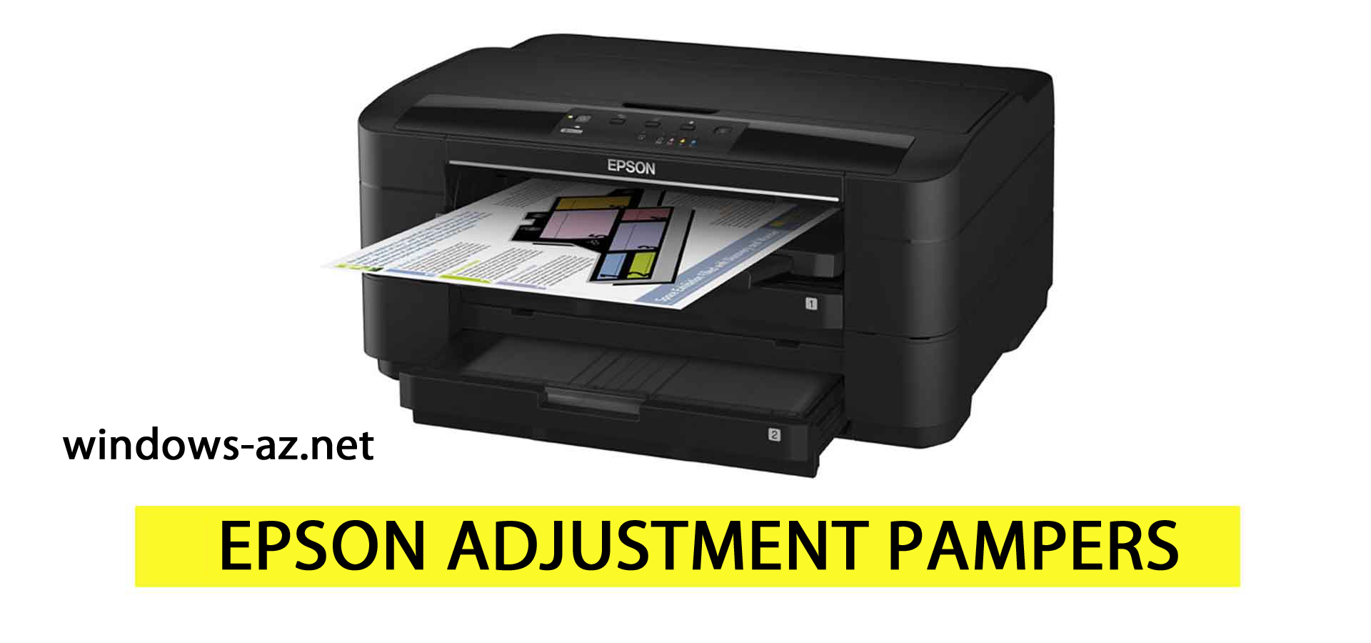Epson adjustment pampers modellər