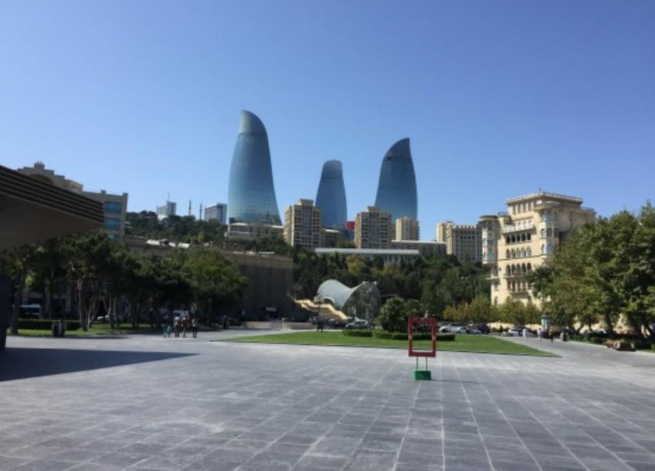 """Bakıda tikilən """"Baku tower"""" adlı tikilinin Azərbaycandakı ən hündür binası olacaq."""