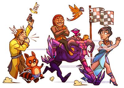 Игрокам Perfect World предлагают звездный марафон