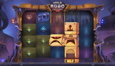Wild Robo Factory — игровой автомат для мобильных платформ