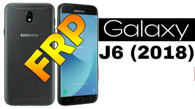 Samsung J600F U3 Firmware + FRP Combination