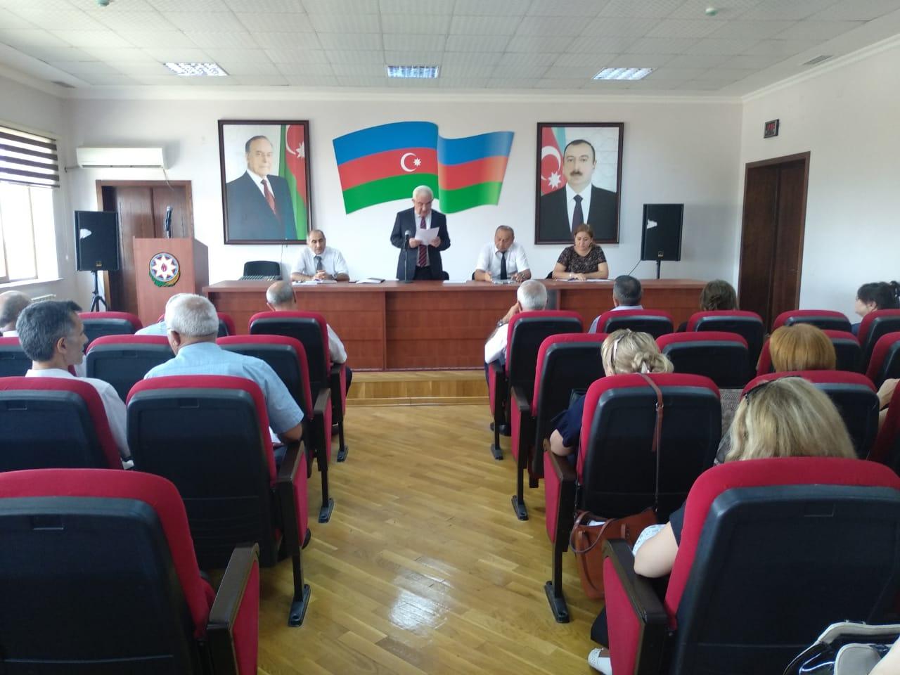 """13.09..2019-cu il tarixində Bakı Texniki Kollecində """"Pedaqoji Şura""""nın iclası keçirildi."""