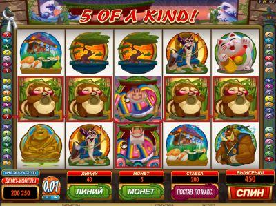 Karate PIG — игровой автомат казино Адмирал