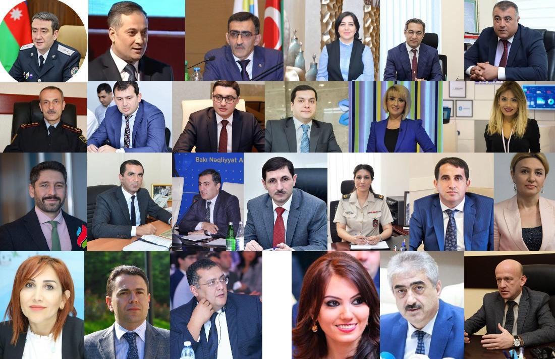 2019-cu ildə mətbuat katibləri və işləri