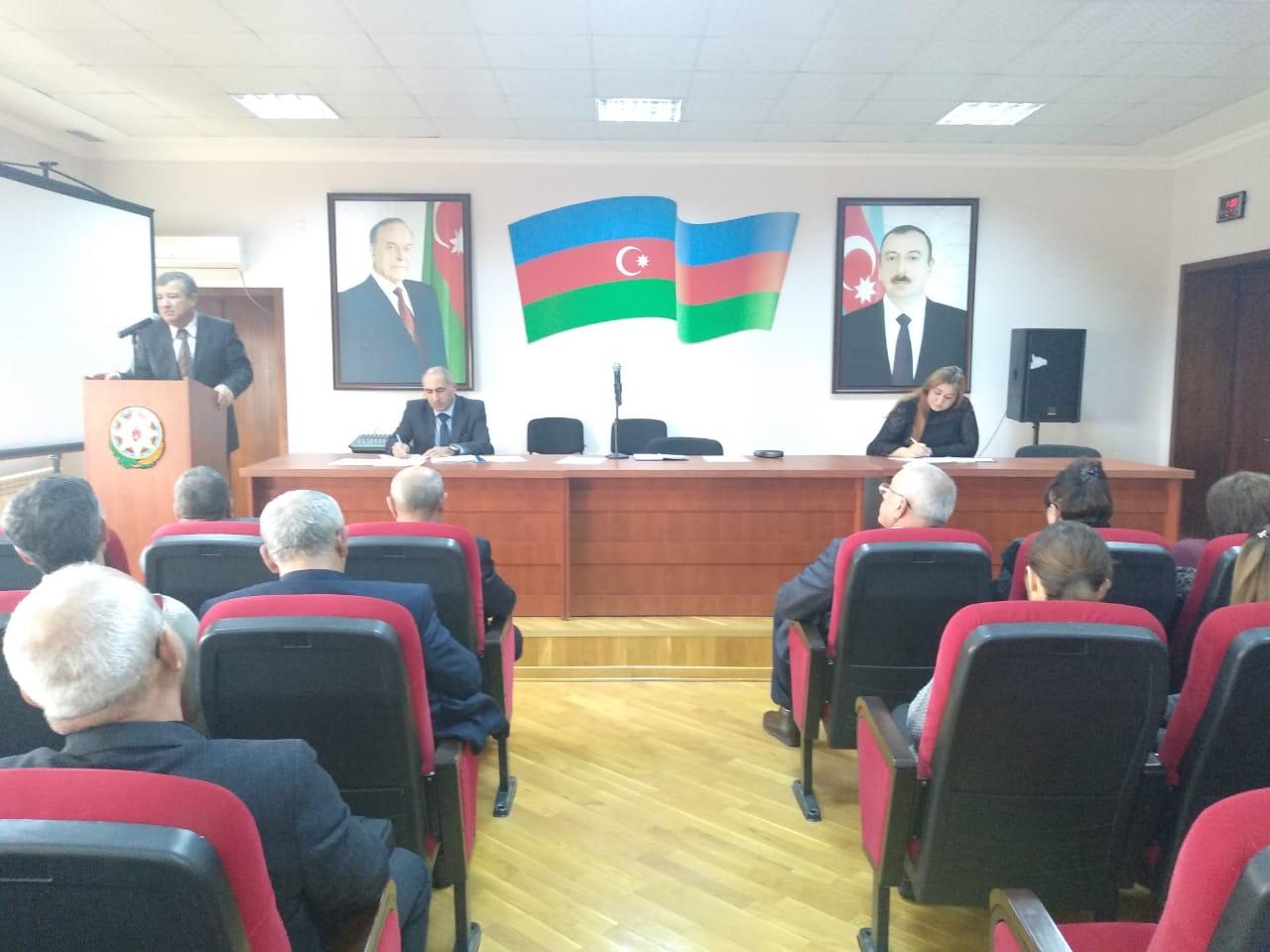 """14.02.2020-ci il tarixində Bakı Texniki Kollecində """"Pedaqoji şura""""nın iclası keçirildi."""