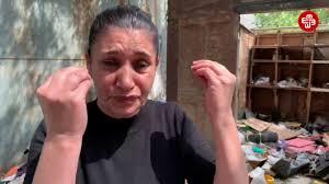 """VIDEO - Məcburi köçkün: """"Nazirlər Kabinetinin qərarı ilə biz evsiz qalacağıq"""
