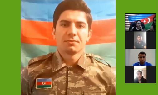"""22 Oktyabr tarixində Bakı Texniki Kollecində """"Şəhidlər ölməz, Vətən bölünməz!"""" adlı tədbir keçirildi."""