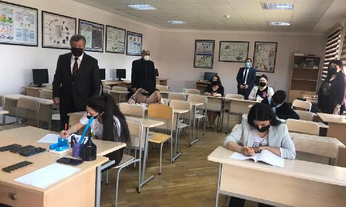Bakı Texniki Kollecində Lütfi Zadənin 100 illiyinə həsr olunmuş İnformatika fənnindən olimpiada keçrildi