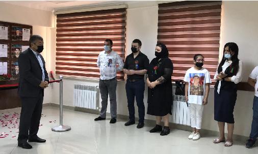 Bakı Texniki  Kollecində  şəhid  Elvin Abbasovun əziz  xatirəsi  yad edildi.
