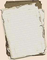 Квест с розыском листка с идеями