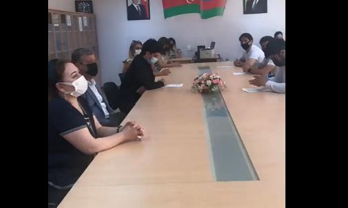 Bakı  Texniki Kollecində  27 sentyabr Anım Günü və 8 noyabr Zəfər Gününə həsr olunmuş dəyirmi  masa təşkil olundu.