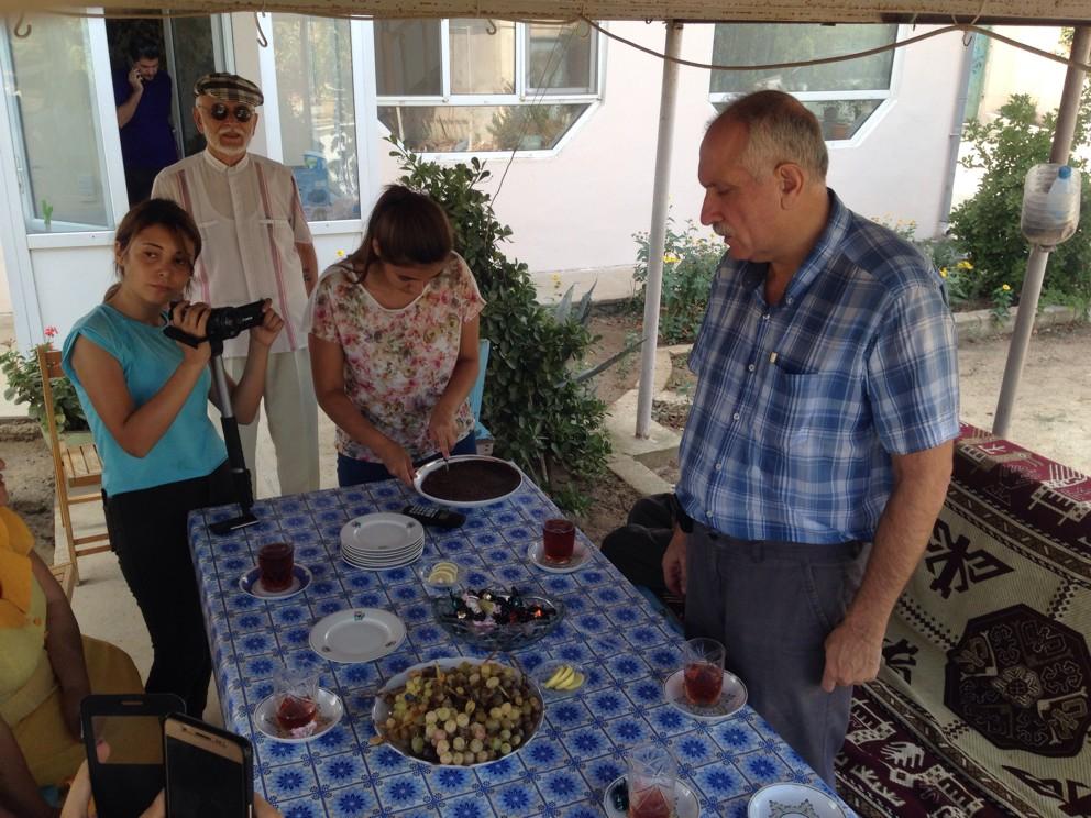 Mehman Əliyevin evindən görüntülər