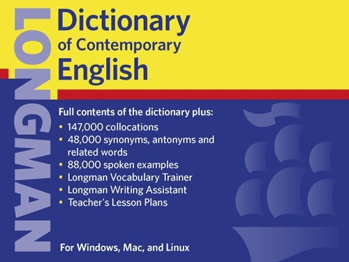 Longman Dictionary of Contemporary English 1.0.4