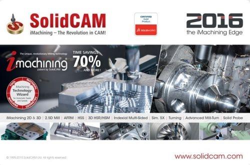 SolidCAM 2016 SP2 HF2 (64-Bit)
